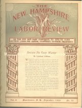 Image of The New Hampshire Labor Review -