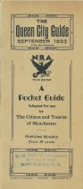 Image of The Queen City Guide September 1933 - 2012.077.033