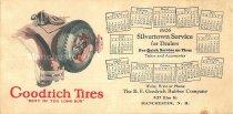 Image of 1926 Goodrich Tires Calendar - 2012.077.035