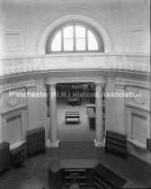 Image of Interior of the Carpenter Memorial Library - 2012.084.004