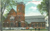 Image of Postcard, City Library, Manchester, NH - 2012.514.008
