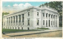 Image of Postcard, New Hampshire Fire Insurance Co., Manchester, N.H. - 2012.514.037