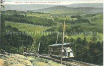 Image of Postcard, View from Incline Railway, Uncanoonuc Mountain, N.H. - 2012.514.064