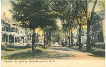 Image of Postcard, Hanover St. (looking East) Manchester, N.H. - 2012.514.079