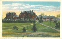 Image of Postcard, Elliot Hosptal, Manchester, N.H. - 2012.514.085