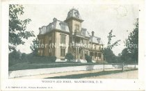 Image of Postcard, Women's Aid Home, Manchester, N.H. - 2012.514.088
