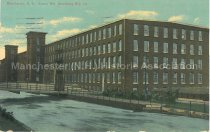 Image of Postcard, Manchester, N.H., Amory Mill, Amoskeag Mfg. Co. - 2013.005.002