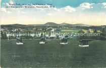 Image of Postcard, Stark Park, showing the Merrimac River and Uncanoonuc Mountain, Manchester, N.H. - 2013.005.019