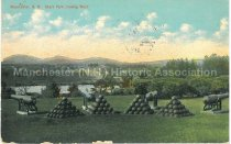 Image of Postcard, Manchester, N.H., Stark Park, looking West - 2013.005.021