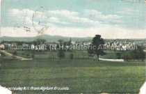 Image of Postcard, Manchester, N.H. from Asylum Grounds - 2013.005.029