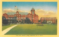 Image of Postcard, View of St. Anselm's College, Manchester, N.H. - 2013.008.007