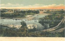 Image of Postcard, Bird'seye View of Manchester, N.H. - 2013.013.005