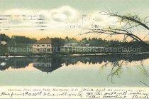 Image of Postcard, Merrimac River above Falls, Manchester, N.H. - 2013.036.001
