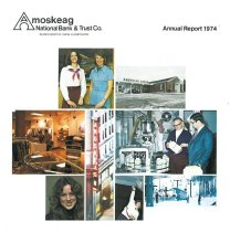 Image of Amokseag National Bank & Trust Co. Annual Reports - 2013.037.001-008
