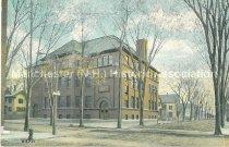 Image of Postcard, St. George School, Corner of Pine & Orange Sts., Manchester, N.H. - 2013.044.002