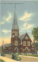 Image of Postcard, St. Joseph's Cathedral, Manchester, N.H. - 2013.044.003