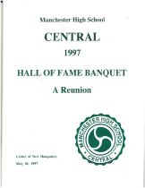 Image of Central High School Hall of Fame Banquet 1997 - 2013.052.002