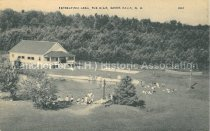 Image of Postcard, Recreation Area, The Elms, Goffs Falls, N.H. - 2013.064.001