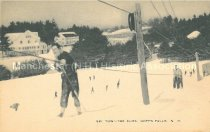 Image of Postcard, Ski Tow - The Elms, Goffs Falls, N.H. - 2013.064.002