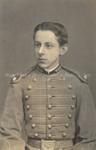 Image of Portrait of a young Frank Challis in uniform - 2013.500.018