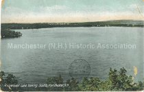 Image of Postcard, Massabesic Lake looking South, Manchester, N.H. - 2013.503.006