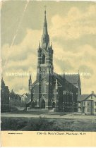 Image of Postcard, St. Marie's Church, Manchester, N.H. - 2013.504.004