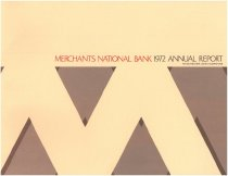 Image of Merchants National Bank Annual Report 1972 - 2013.517.003