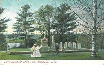 Image of Postcard, Stark Monument, Stark Park, Manchester, N.H. - 2013.519.041