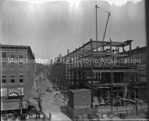 Image of Construction of the Amoskeag Bank Building - 2014.016.005