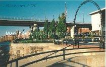 Image of Postcard, Manchester, NH - Riverfront Park - 2014.045.007