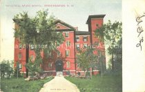 Image of Postcard, Industrial State School, Manchester, N.H. - 2015.039.002