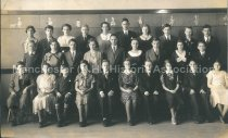 Image of Group Photo of Wilson School Graduating Class of January 1933 - 2015.061.011