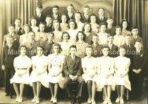 Image of Group Photo of Wilson School Graduating Class of June 1941 - 2015.061.023