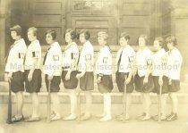 Image of Group Photo of the Wilson School Girls Baseball Team, 1928 - 2015.061.055