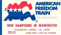 Image of American Freedom Train - 2015.066.001