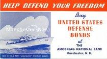 Image of Amoskeag National Bank War Bond Advertisement - 2016.023.015