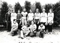 Image of Group Photo of Hesser College Women's Softball Team - 2016.027.116
