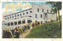 Image of Postcard, The Pavilion, Uncanoonuc Mountain, Goffstown, NH. - 2016.033.009