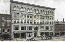 Image of Postcard, The Beacon Building, Manchester, NH - 2016.033.011