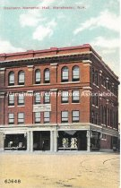 Image of Postcard, Dearborn Memorial Hall, Manchester, NH - 2016.033.020