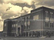 Image of Webster School, 2519 Elm Street, Manchester, NH - 1940 - 2016.041.006