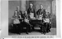 Image of Copy Photograph-Elective Officers of Grand Lodge of New Hampshire - 80-P034-096