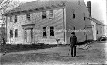 Image of House with man in front - 80-P034-127
