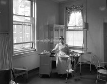 Image of Employment Bureau; Amoskeag Manufacturing Company Hospital - AMCGN 0300