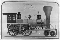 """Image of Locomotive """"Amoskeag # 92"""" made by Amoskeag Mfg. Co. - AMCGN 0409"""