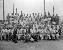Image of Group Portrait of the Masons at Coolidge Mill - AMCGN 0451
