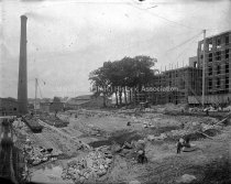 Image of # 11 Mill Extension & Cloth Store House Central Division, Under Construction - AMCGN 0661