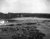 Image of Merrimack River above old dam - AMCGN 1025