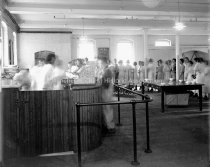 Image of Amoskeag Domestic Science, Cooking School, Lunch Room - AMCGN 1218