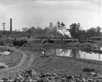 Image of Amoskeag Dam Under Construction - AMCGN 1348